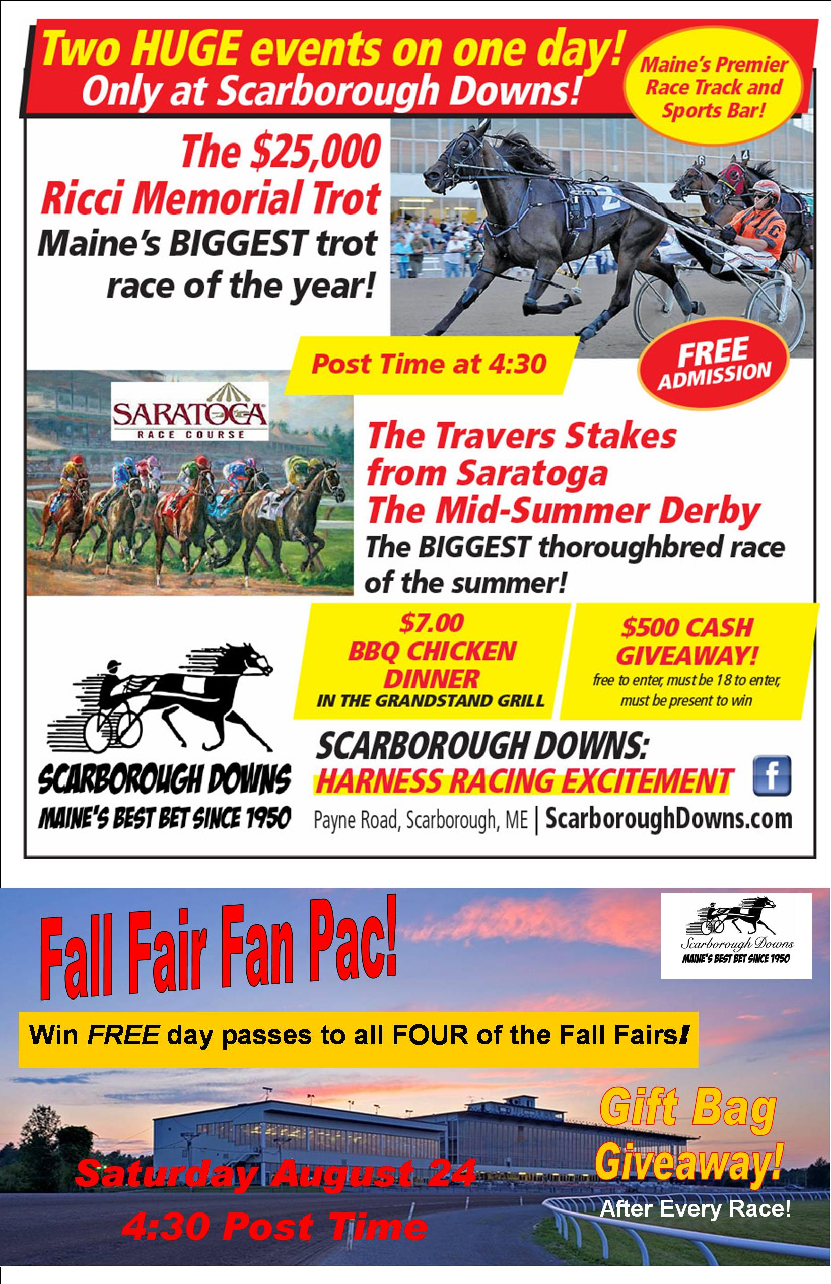 Scarborough Downs - Special Events