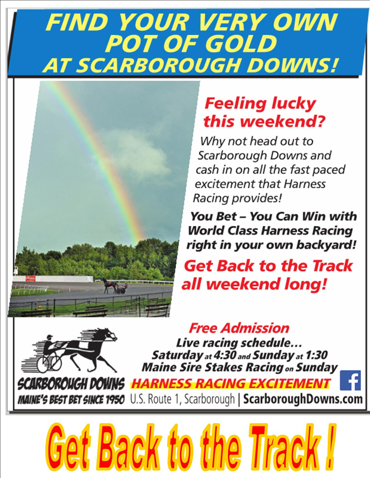 Scarborough Downs Maines Best Bet Since 1950