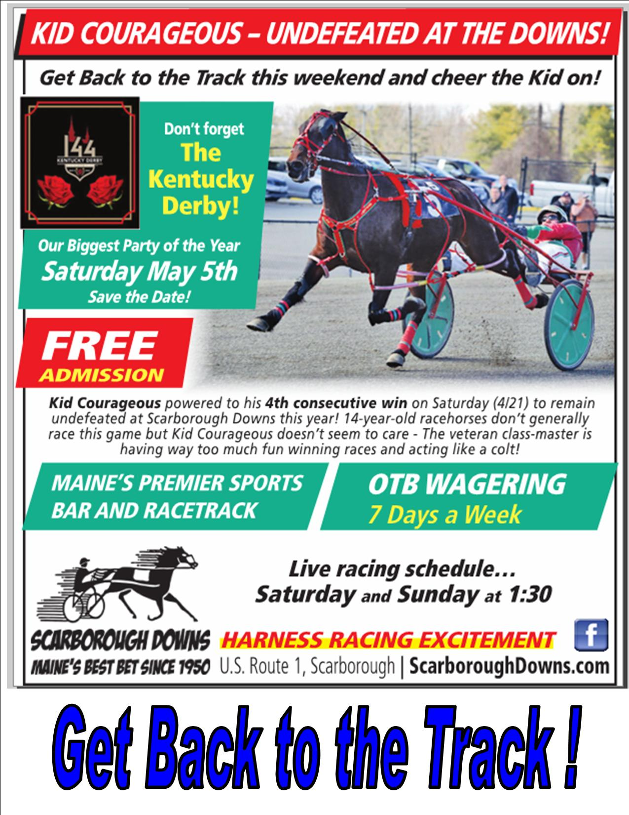 Scarborough Downs - Maine\'s Best Bet Since 1950!